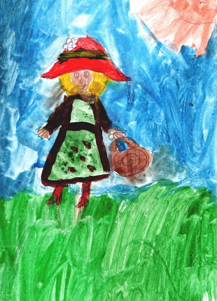 лучшие детские рисунки