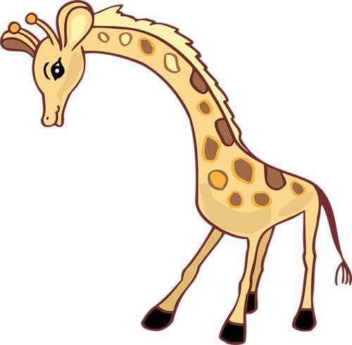 жираф -простые стихи для малышей