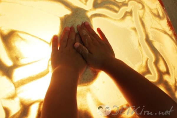 игры на песке для детей 13