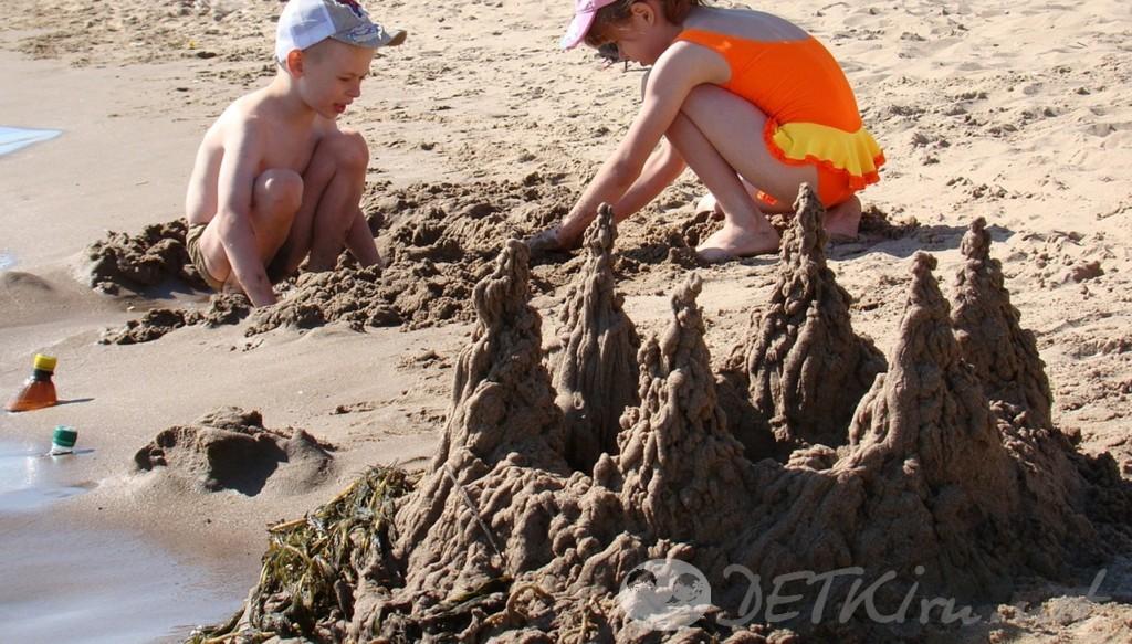 игры на песке для детей 8