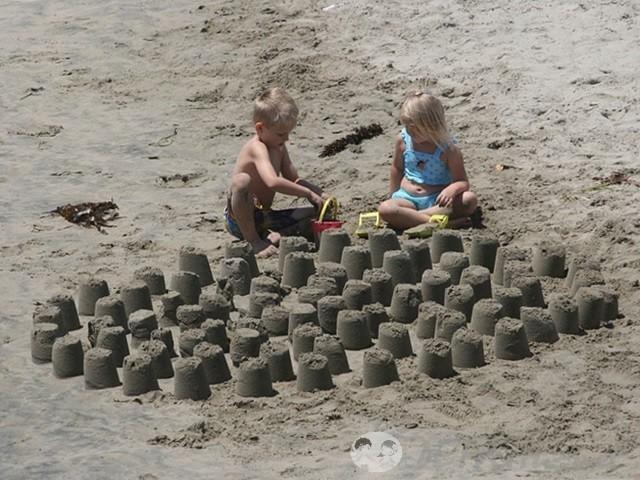 игры на песке для детей 9
