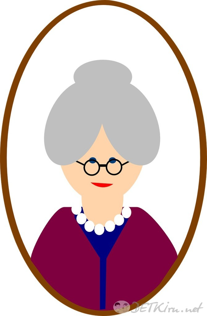 бабушка картинки для детей 017