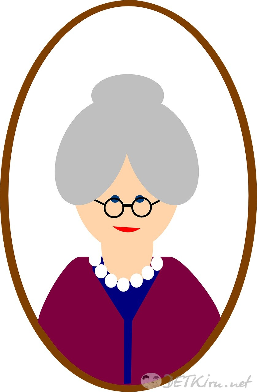 Бабушка: картинки для детей