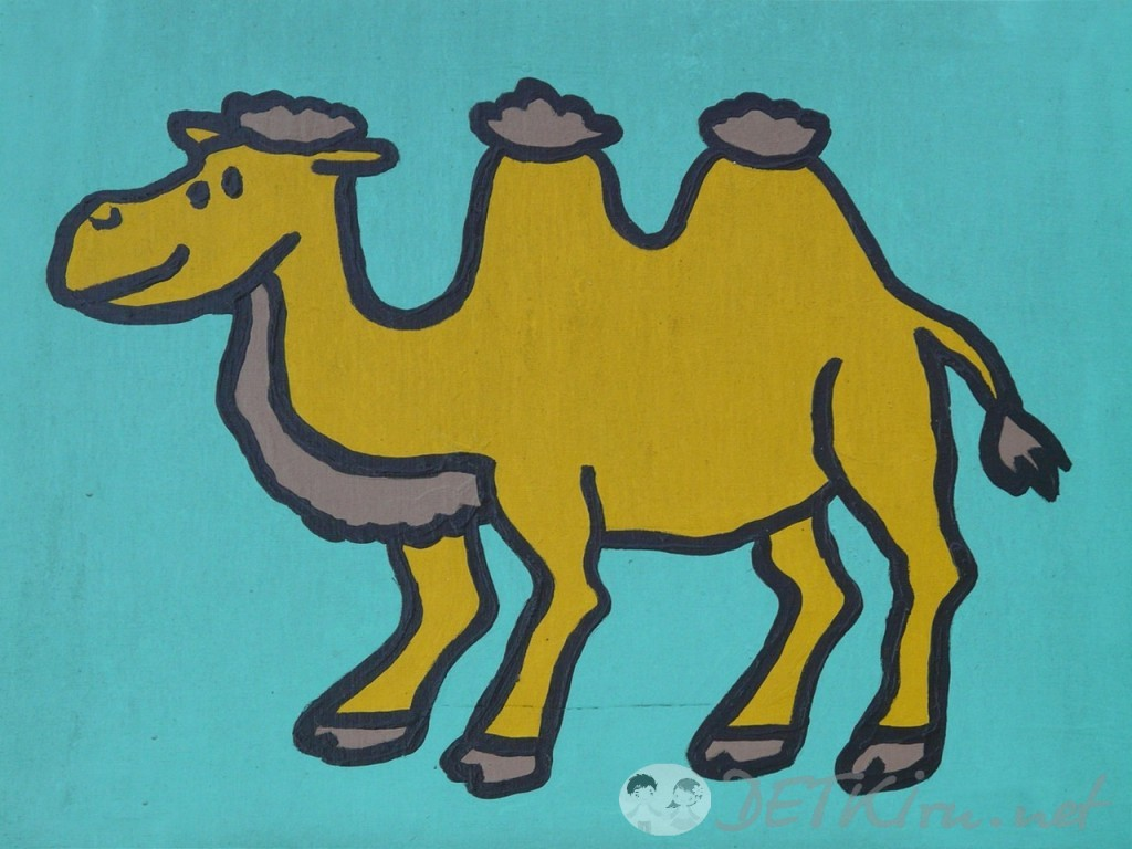 верблюд картинки для детей