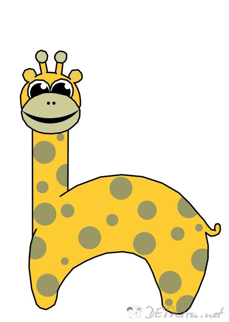 жираф картинки для детей 5
