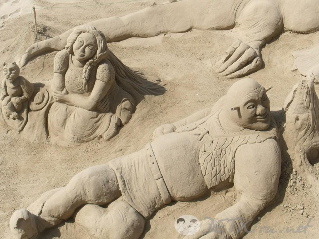 скульптуры из песка фото 1