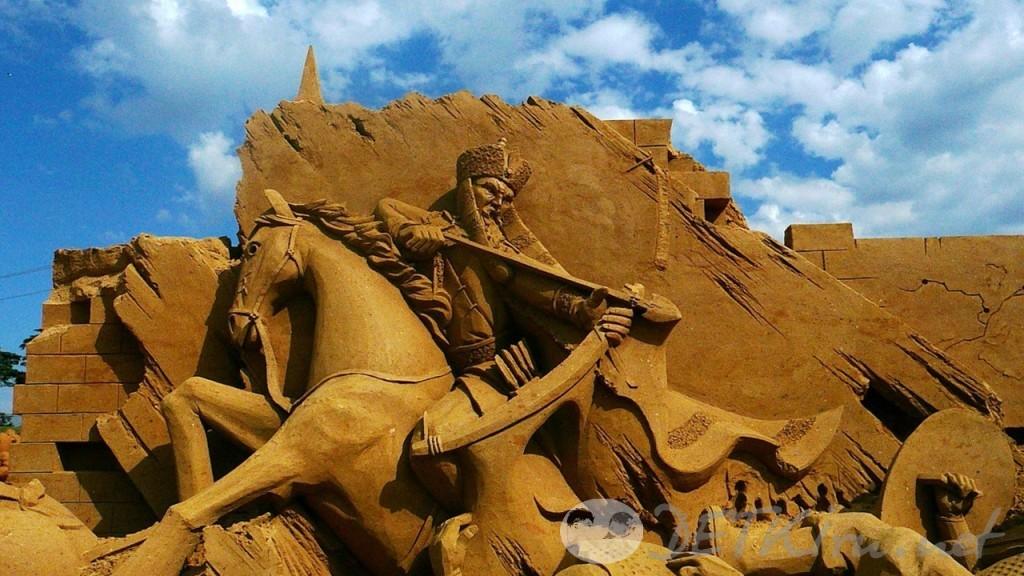 скульптуры из песка фото 2