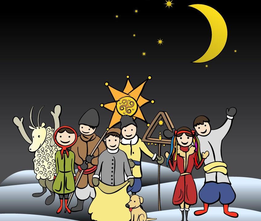 Детские колядки и песни на Рождество — 133 самых интересных, самая полная подборка + 30 колядок на украинском языке