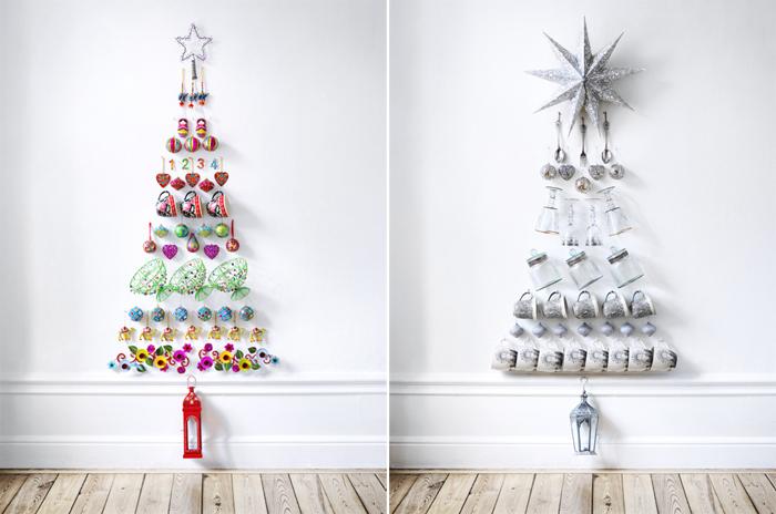 Новогодняя елка своими руками — 65 фото-идей