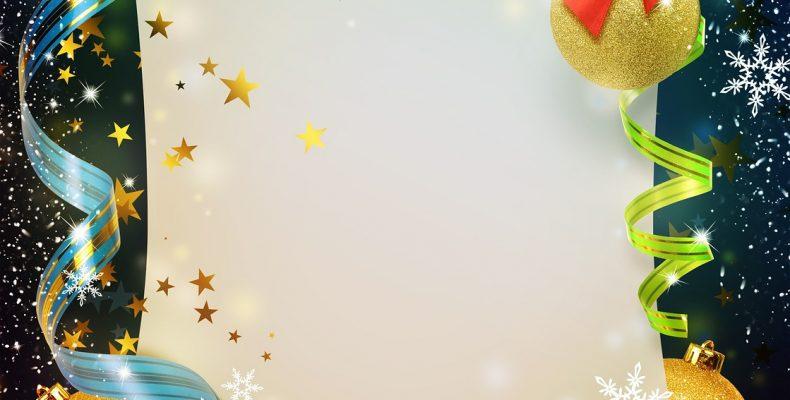Шаблоны открыток на Новый год: ТОП-10 самых красивых