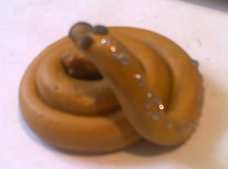 новогодняя поделка змея