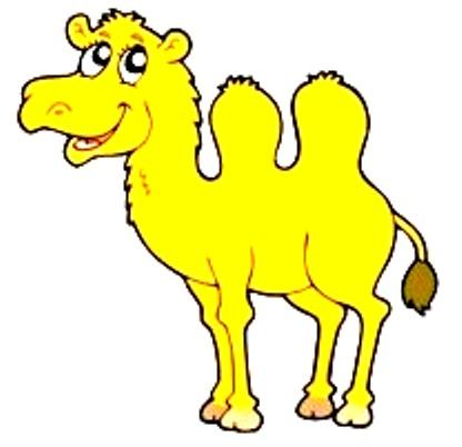 верблюд - стихи для малюток