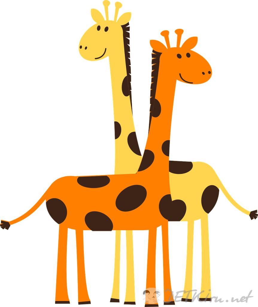 жираф картинки для детей 2