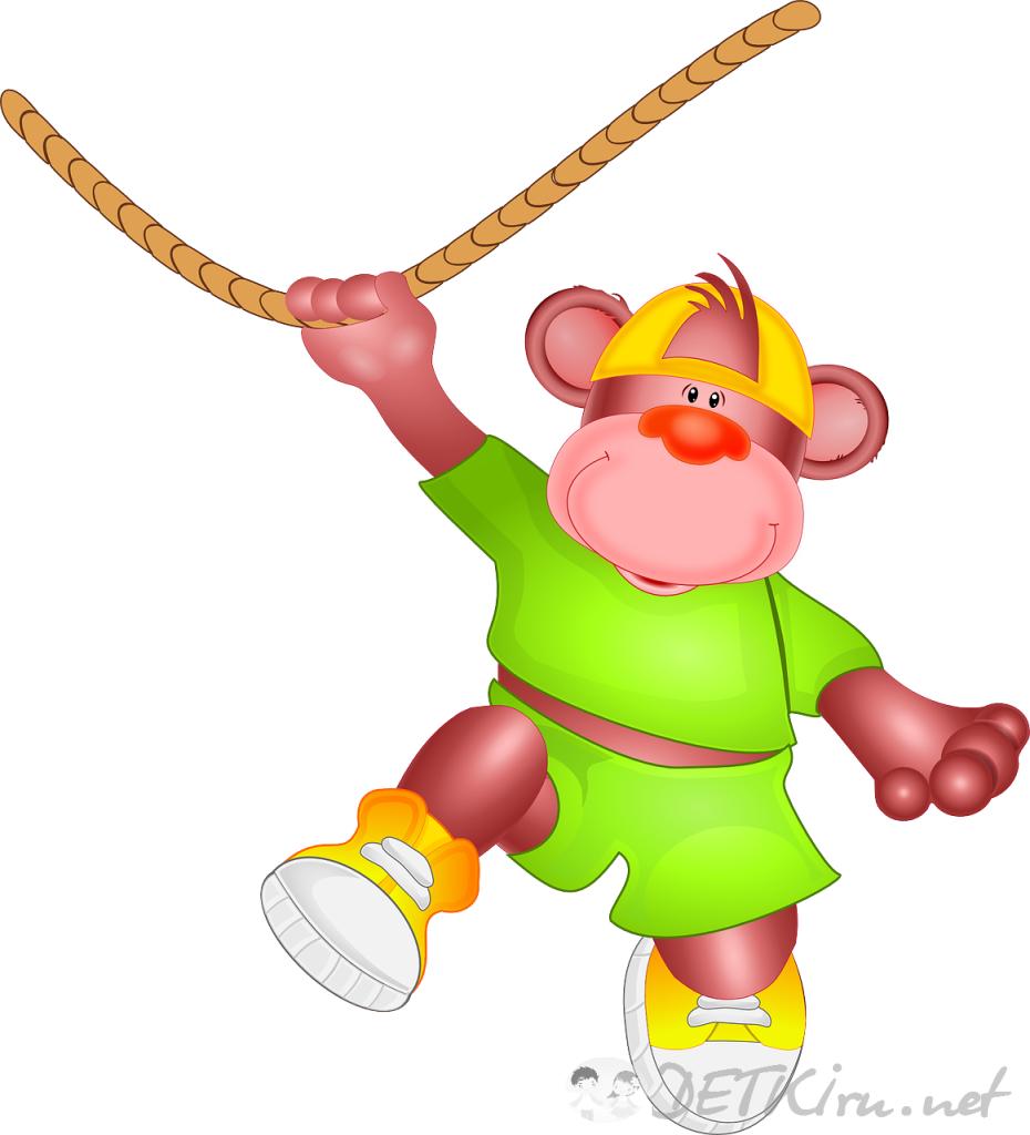 обезьяна картинки для детей 4