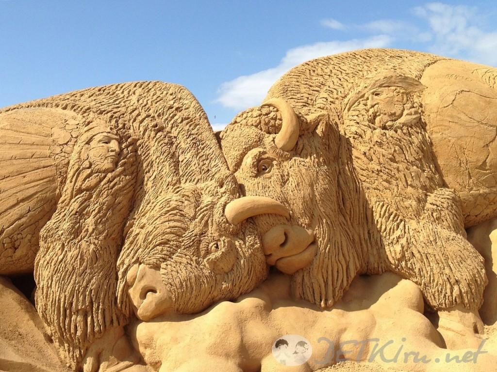 скульптуры из песка фото 3