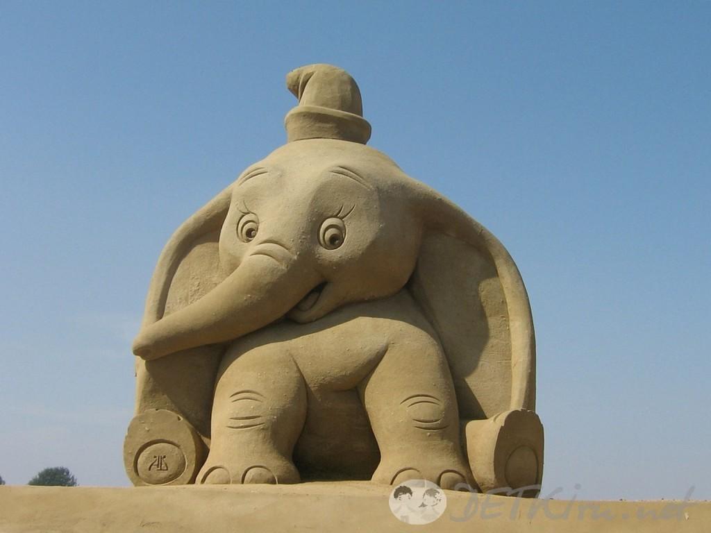 скульптуры из песка фото 4