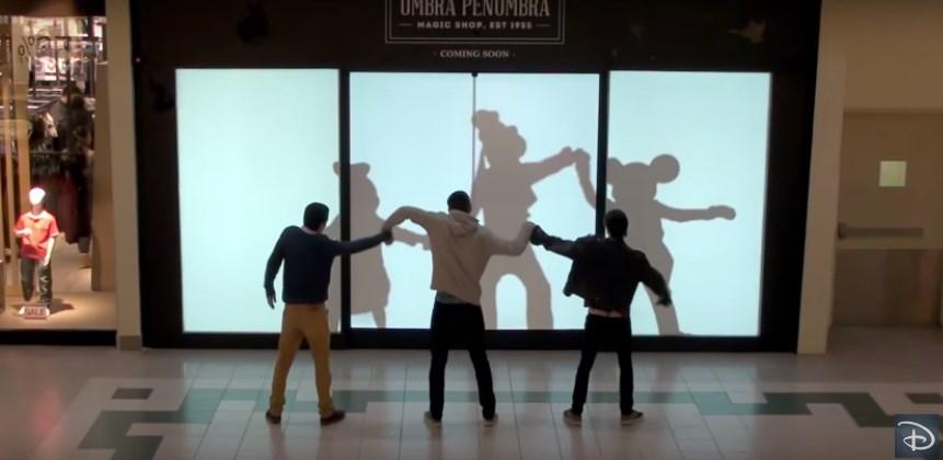 Видео для детей Герои Диснея — сюрприз для покупателей магазина