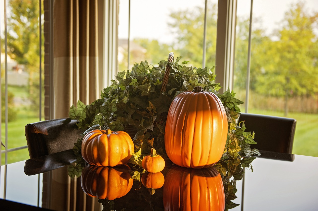 Осенняя композиция 7 фото
