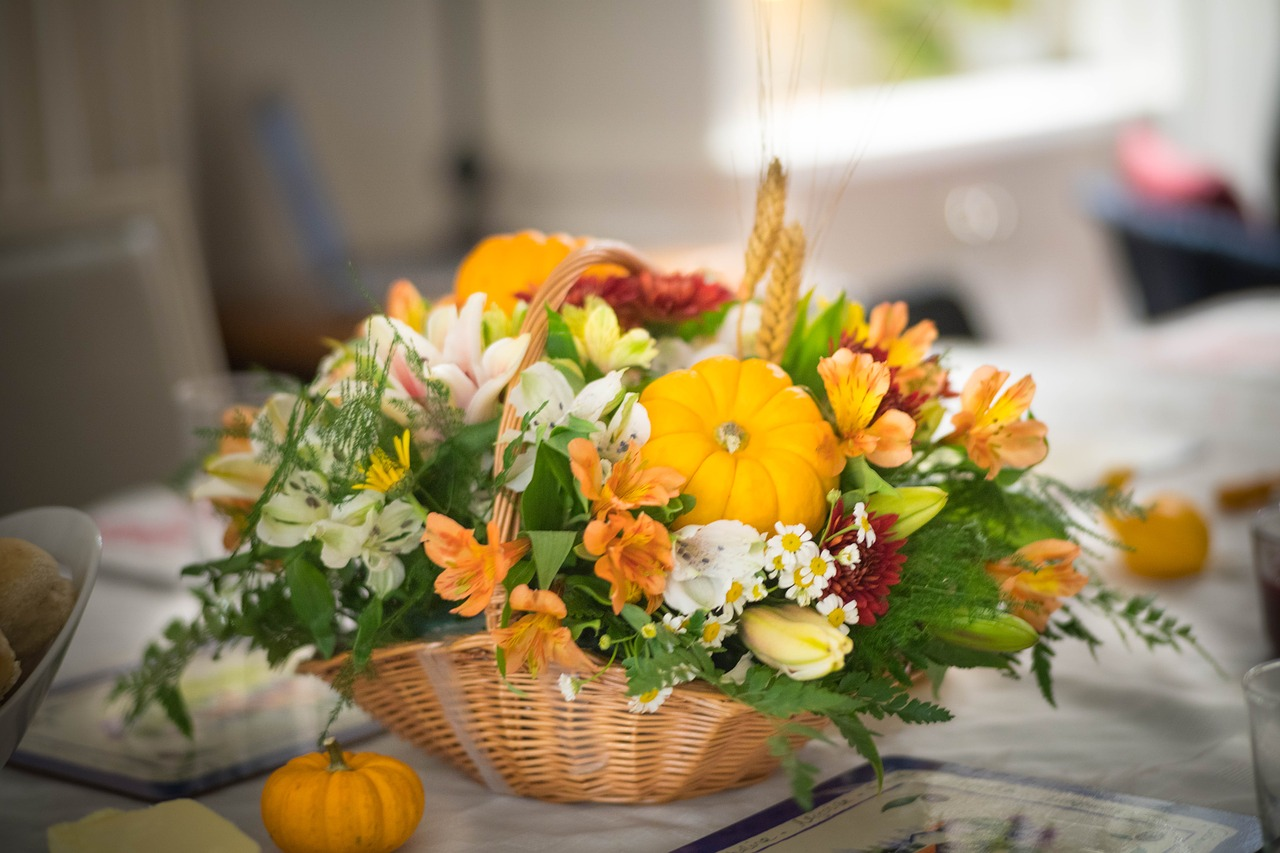Осенняя композиция  4 фото